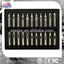 Tattoo supplies professional body art stainless steel 22pcs tattoo needle tip