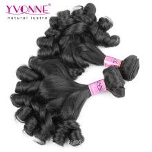Extensão não tecida do cabelo humano do Virgin dos produtos por atacado