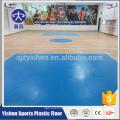 Bom rebound 100% pure pvc desgaste camada de basquete chão para venda