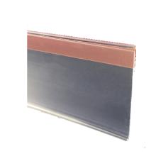 suporte de etiqueta de plástico tipo pasta / faixa de preço / faixa de dados