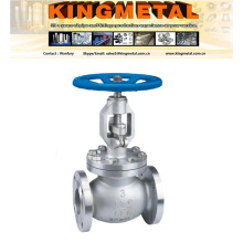 Dn200 5inch Pn16 316 Stainless Steel Globe Valve Price.