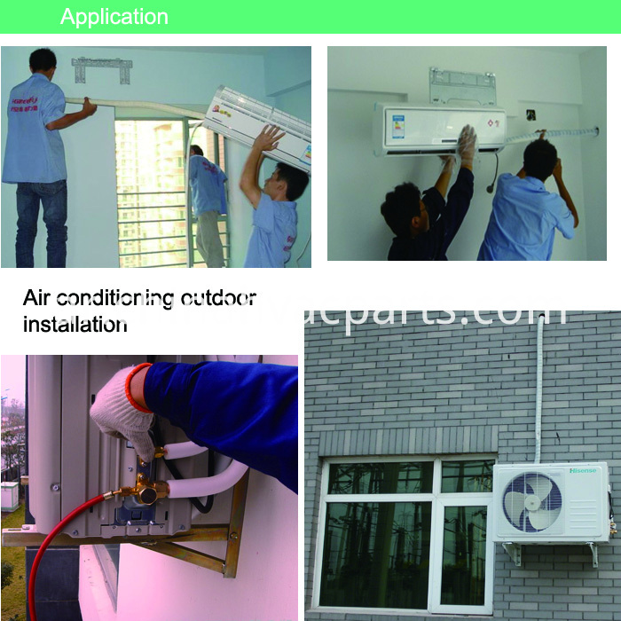 Air conditioner insulation kit