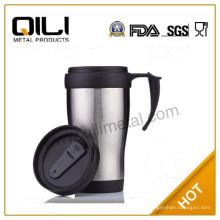 16oz Kaffee-Becher, Plastikbecher für heißen Kaffee, Kaffee-Tasse-Kostüm