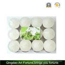 12g vela perfumada de Tealight para la promoción del regalo