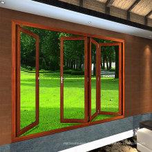 Feelingtop Venta caliente aluminio estilo europeo puerta doble