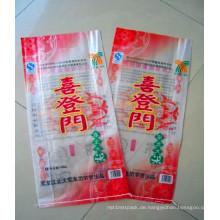 Qualitäts-kundenspezifischer bunter preiswerter Preis PP gesponnener Beutel für 25kg 50kg Reis-Verpackung
