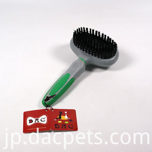 grooming cat brush