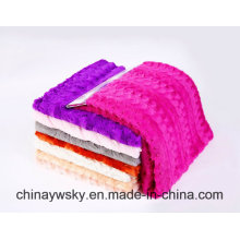 100 Polyester China Embossed Kintted PV Fleece