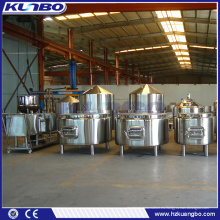 KUNBO Cerveza de Acero Inoxidable Brewery Saccharification Mash System Lauter Tank