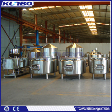 KUNBO Acier inoxydable Bière Brewery Saccharification Mash System Lauter Tank