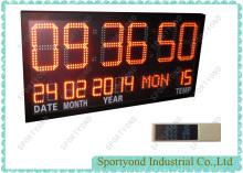 Tijd van bestuur leidde met Temperatuurdisplay en Klok timing kaarten