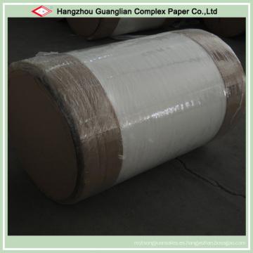 Rollos enormes de papel de la hornada revestidos de silicona de dos lados de la fábrica