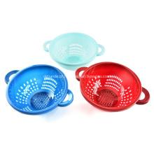 Escorredor de plástico de cozinha em Multi cor