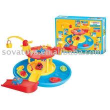 Brinquedo de recreio ao ar livre dos desenhos animados