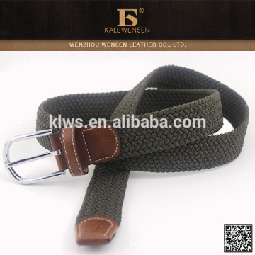 Selling top cheap hottest knit high quality western braided belt