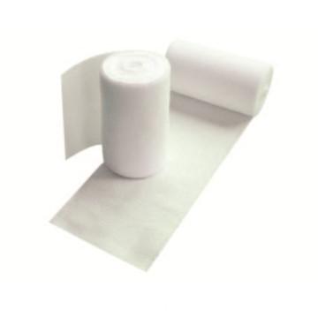Rollo de vendaje elástico de algodón de tejido liso médico