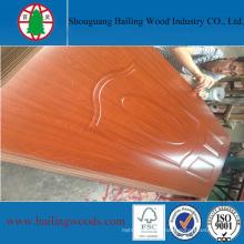Good Quality Melamine Moulded HDF Door Skin