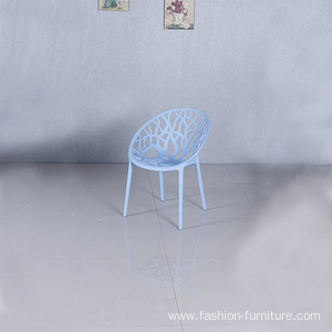 New dining design polypropylene plastic stackable chair