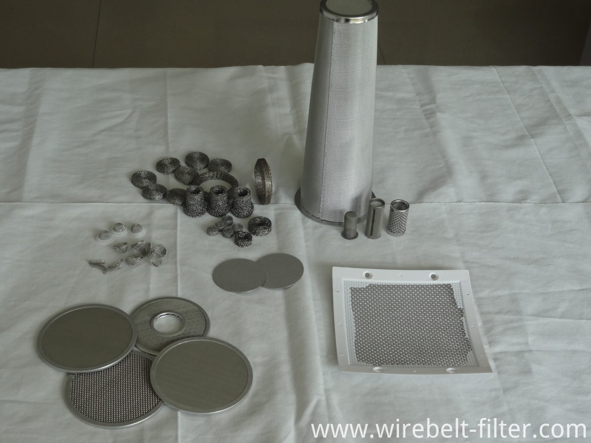 different kinds of filter elements
