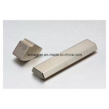 Моторные магниты в форме сегмента и неправильной форме.