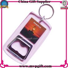 Ouverture de bouteille en plastique pour cadeau de porte-clés