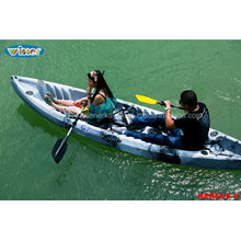 Hot Sale Double Sit on Top Fishing Kayak for Family Use