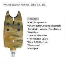 Digital Circuit Carp Fishing Alarma de la mordedura de la pesca a prueba de agua