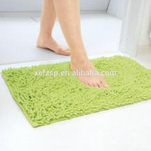 modern microfiber chenille bath rug