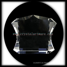 NUEVO marco de foto de cristal en blanco cristal