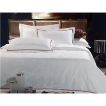 Algodón caliente de la hoja de cama del hotel de la venta el 100%