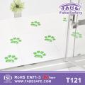 Infant Anti Tip Floor Sticker