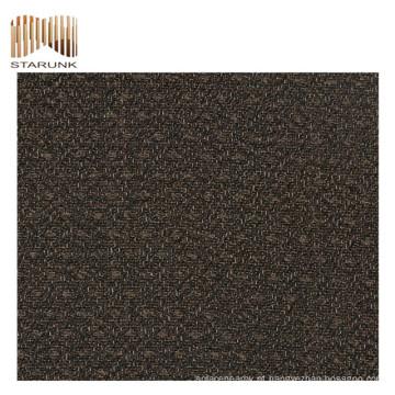 venda quente e papel de parede de vinil tecido durável com preço barato