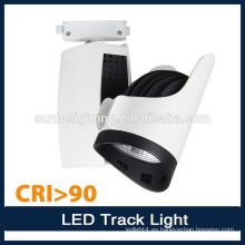 Nueva luz de la pista de la calidad LED exhibe la luz Iluminación llevada dimmable de la pista de la iluminación de la cubierta de aluminio
