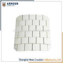 Ceramic UHMWPE composite hard armor plate