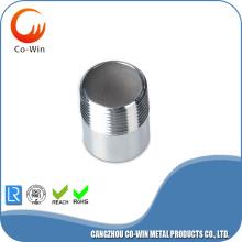 Paslanmaz Çelik Kaynaklı Boru Nipeli SCH40