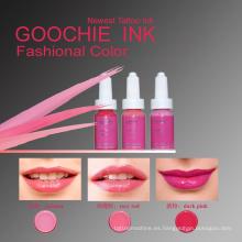 Tinta líquida permanente del tatuaje del pigmento del maquillaje