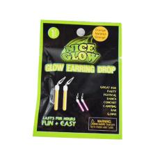 glow stick star clé boucle d'oreille drop