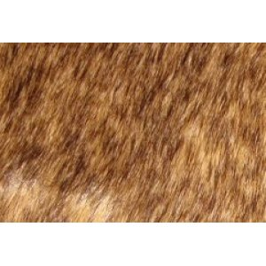 Tip-dyed Artificial Fabric Faux Fur