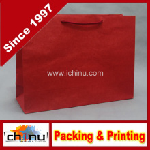 Saco de papel vermelho Kraft (2125)
