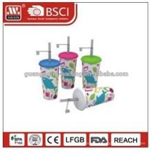 impression d'étiquettes de gobelets en plastique / bon marché des tasses à café jetables / pas cher tasse d'yaourt en plastique jetables