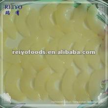 Frutas enlatadas - pera en almíbar