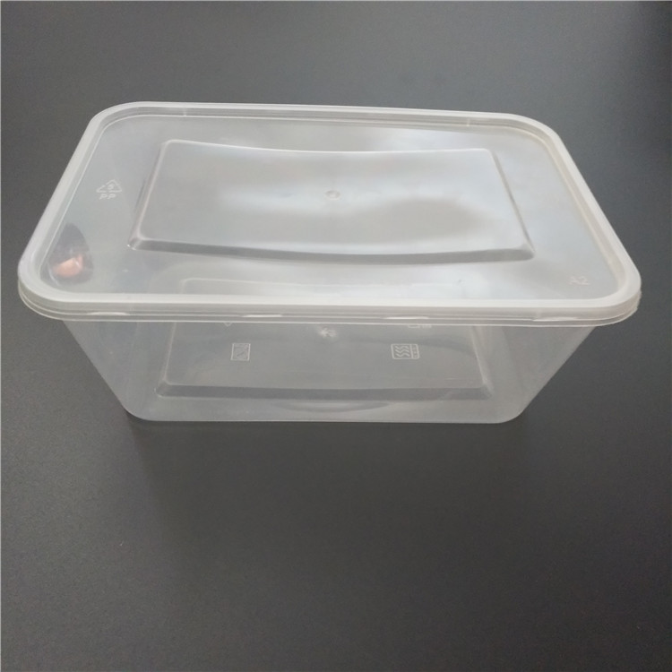 takeaway plastic food box