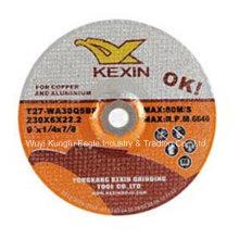 9′′ forma plana cobre, abrasivos de pulir discos con precio barato