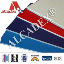 Aluminium Composite ACP Sheet Interior Wall Paneling