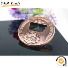 Custom Sport Event Red Copper Plated Medal for Promotional Gift