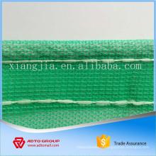 Filet anti-poussière HDPE vert pour la construction