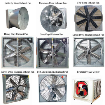Push-Pull Draught Centrifugal Exhaust Fan for Greenhouse
