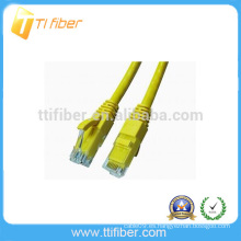 CAT5E Cable de conexión del cable LAN UTP