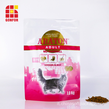 Stampa di imballaggi personalizzati Cat Treat Food Bag