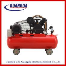Lubrifiés 4KW 910 t/mn 5.5HP 100 L 130 KG courroie compresseur d'Air